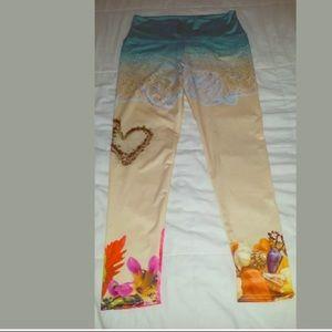 f0dbbc32cbe880 om shanti Pants | Nwt Full Length Leggings Large | Poshmark